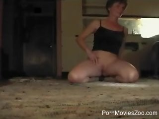 German Shepard fucks mature woman in great ways while home ...