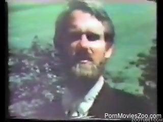 Matures filmed in vintage scenes of rough zoophilia porn